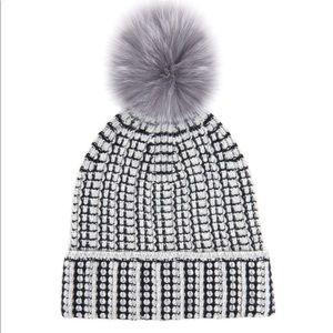 DVF Lola Fur Pom Hat